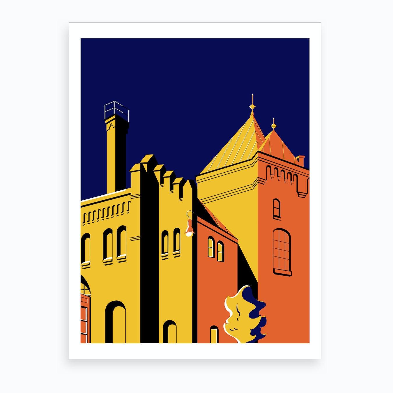 Berlin Series Kulturbrauerei Art Print