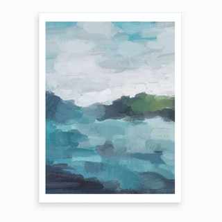 Island In The Distance Art Print