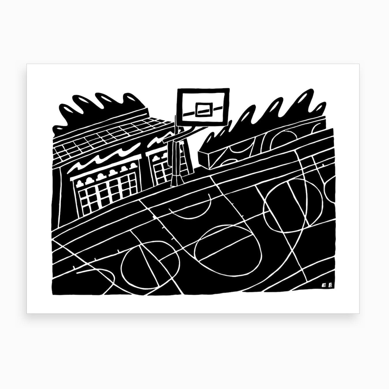 Gym Art Print