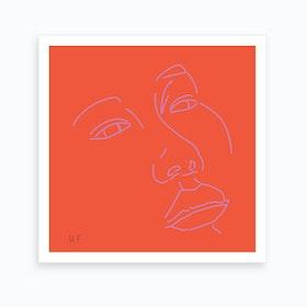 Portrait 02 Art Print