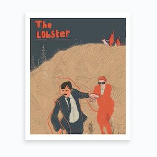 The Lobster Art Print