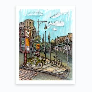Berlin Eberswalder Straße Art Print