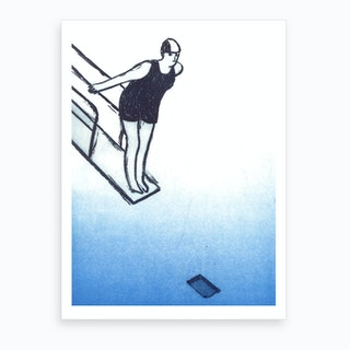 Jump No Funciona Bien En Este Formato Art Print