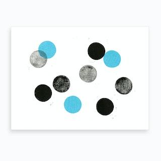Sound Dimension #2 Art Print