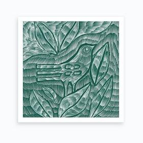 Desert Bird 2 Art Print