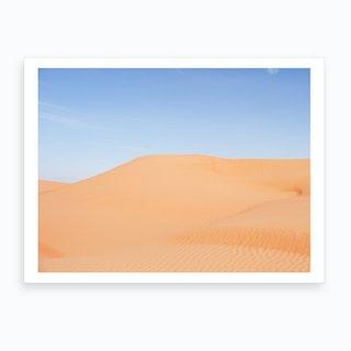 Middle East Desert Landscape 2 Art Print