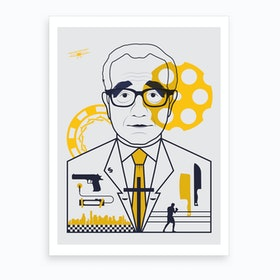 Scorsese Directors Cut Art Print
