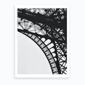 Eiffel V Art Print