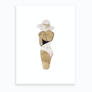 Fashion Swimsuit 3  Art Print