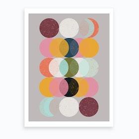 Mood & Moons Art Print