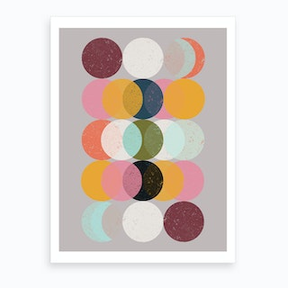 Mood & Moons Art Print