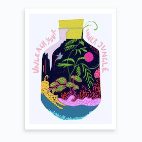 Unleash Your Inner Jungle Art Print