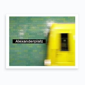 Reaching Alex Art Print