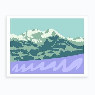 La Suisse Art Print