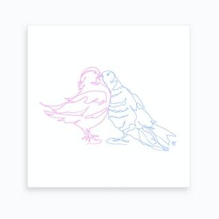 If You Are A Bird I Am A Bird Art Print
