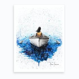 Finding Me Art Print