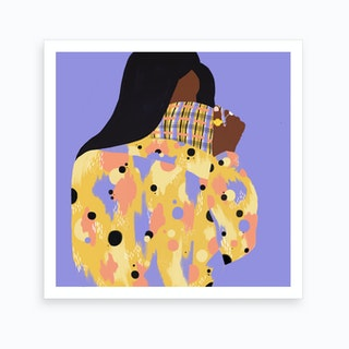 80 S Boogie Art Print