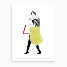 London Fashion Week VI Art Print