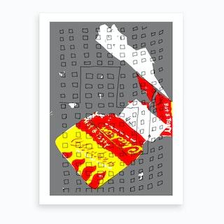 Chicken Box Estate Art Print