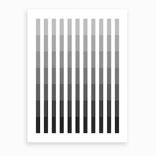 Grey Up Art Print
