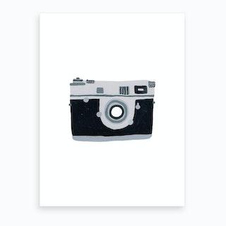 Camera Shy Art Print