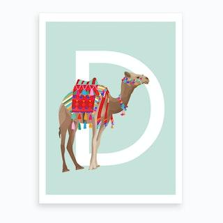 D Dromedary Art Print
