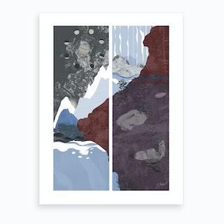 Moon Tide Art Print