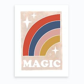 Magic Rainbow Art Print
