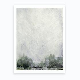 Forest Edge Art Print