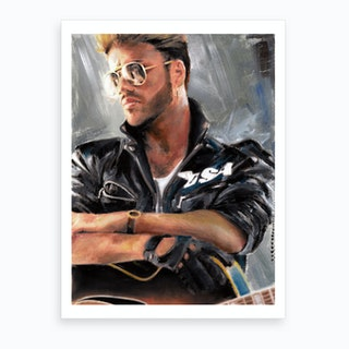 George Michael Art Print