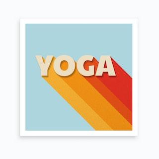 Yoga I Art Print