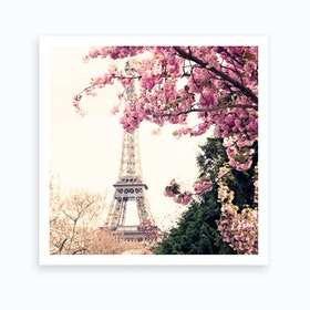 Paris In The Spring Art Print