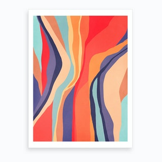 Psychedelic Pattern 3 Art Print
