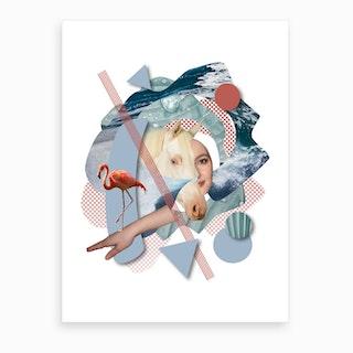 Breaking The Waves (1) Art Print