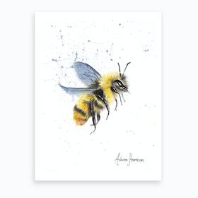 Sun Bee  Art Print