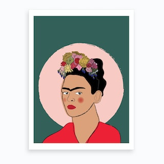 Frida Illustration Art Print