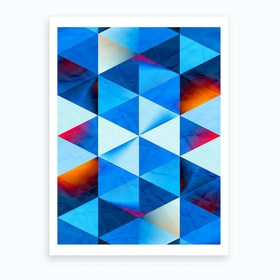 Vivid Pattern VII Art Print
