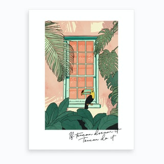 Toucan Do It Art Print