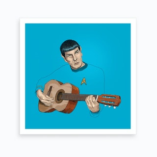 Music From Outer Space Art Print