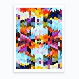 Vivid Pattern VI Art Print