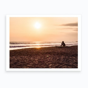 Sunset Beach 3 Art Print