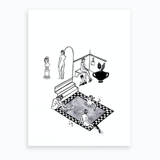 Some Time Alone Together Art Print
