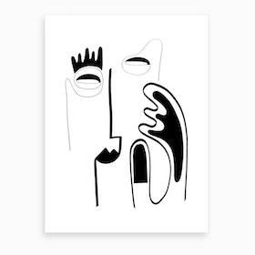 The Genius Of Pain 5 Art Print