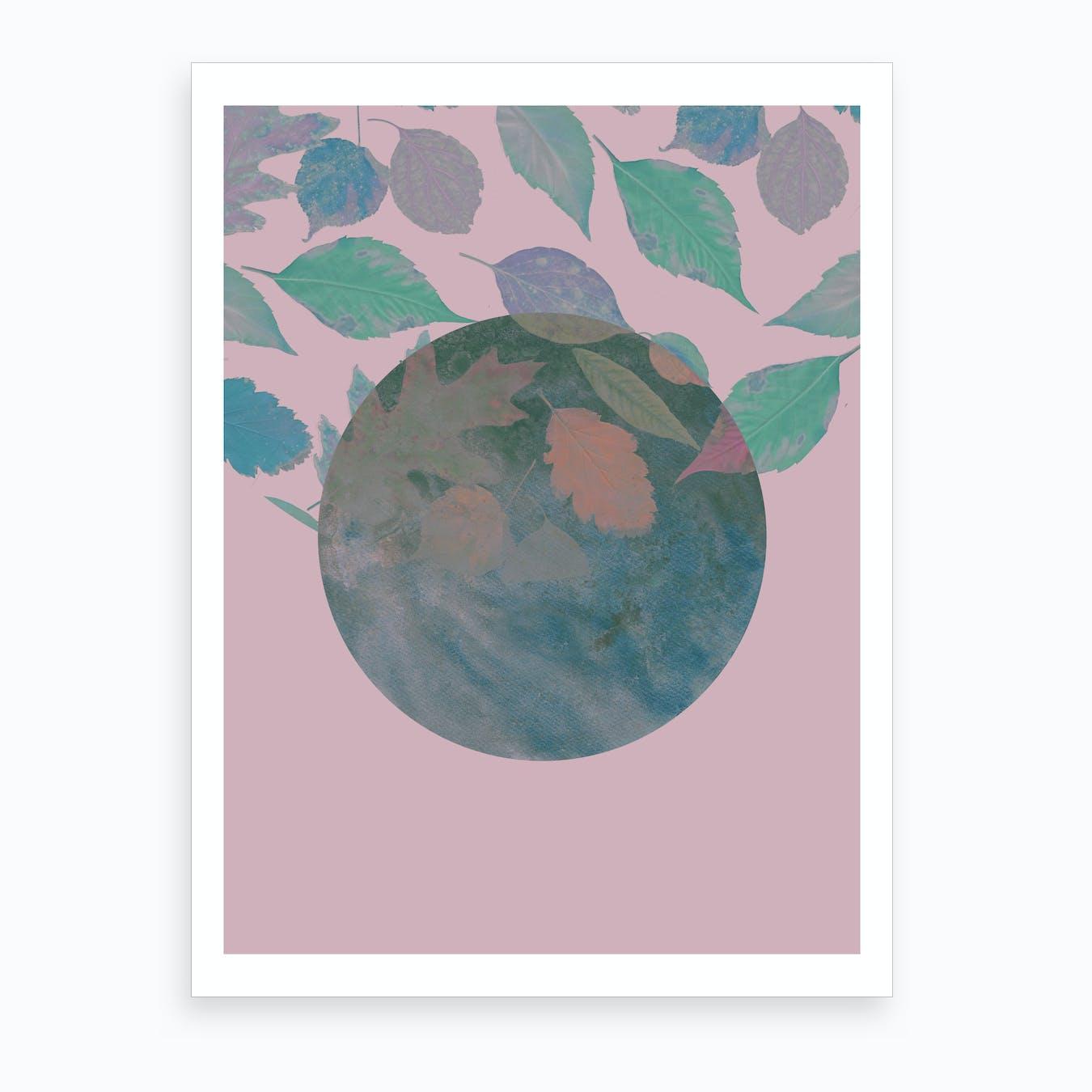 Autumn Lilac Art Print