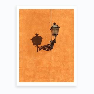 Lamp Shade Art Print