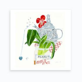 Incense And Abundance Art Print