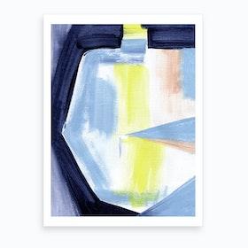 Geo Abstract 2 Art Print