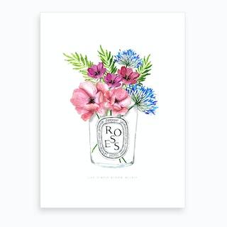 Diptyque Flowers Ok Art Print