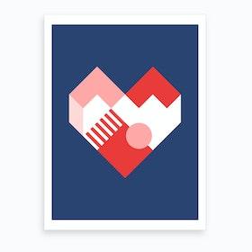 Heart II Art Print