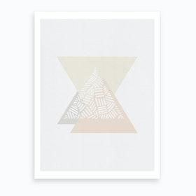 Minimalist Geometric IV Art Print